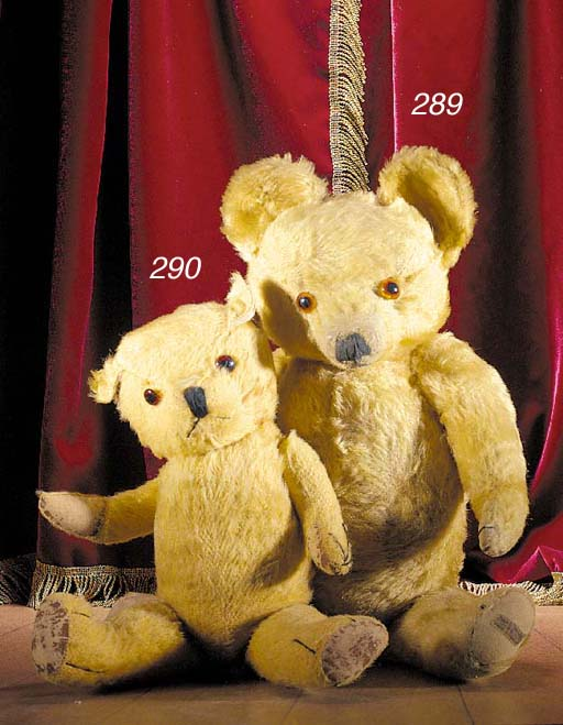 A Luvmee Toy Manufacturing Co. teddy bear