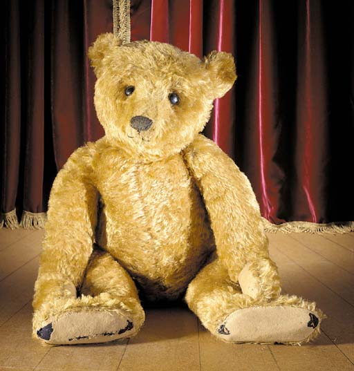 A large fine Steiff teddy bear