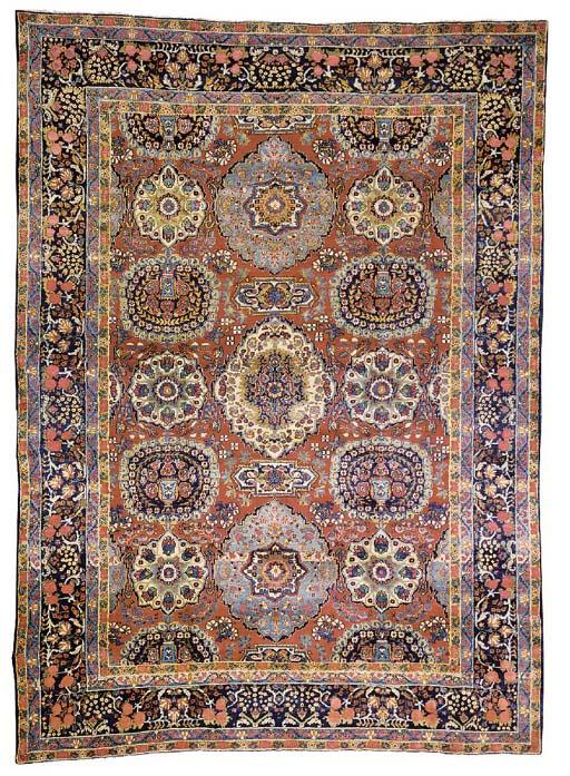 A fine Kirman carpet, South Persia