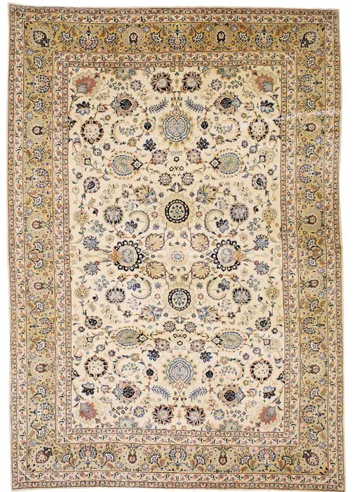 A fine Kashan carpet, Central Persia
