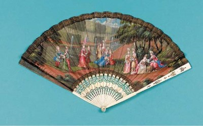 A fine fan, the dark kid leaf