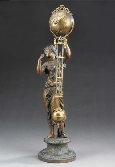 An American spelter and brass-