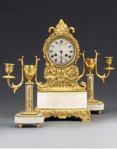 A Louis Philippe gilt-bronze a