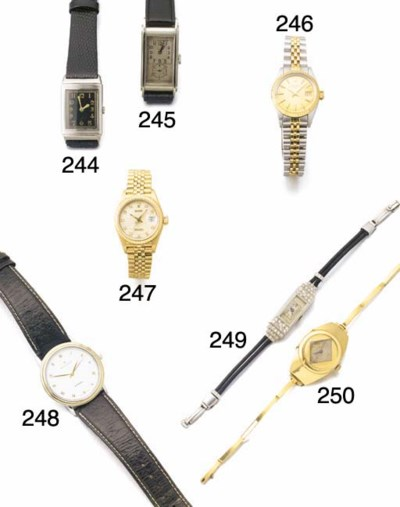ROLEX, AN LADY'S 18CT. GOLD TO