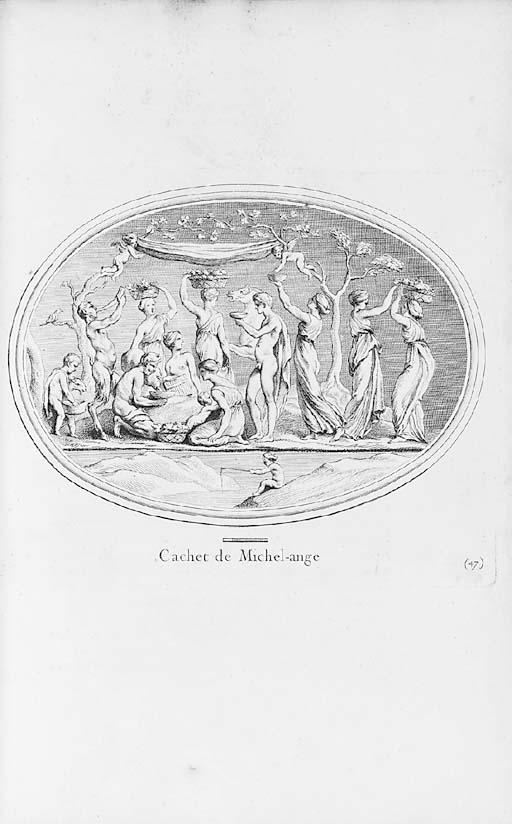MARIETTE, Pierre Jean (1694-1774).  Traité des Pierres gravées, Paris: de l'Imprimerie de l'Auteur, 1750.