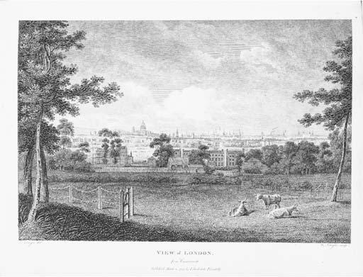AIKIN, John (1747-1822).  The History of the Environs of London ... within twenty-five miles of the Metropolis, London: John Stockdale, 1811.