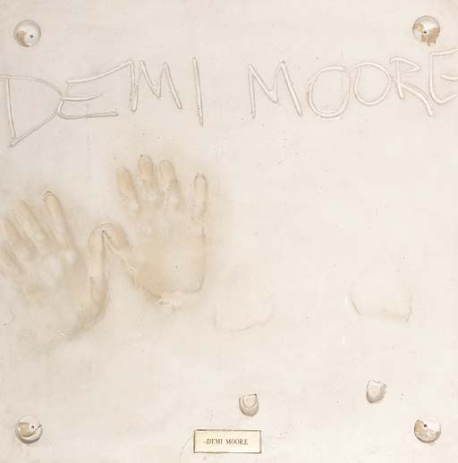 Demi Moore/Planet Hollywood