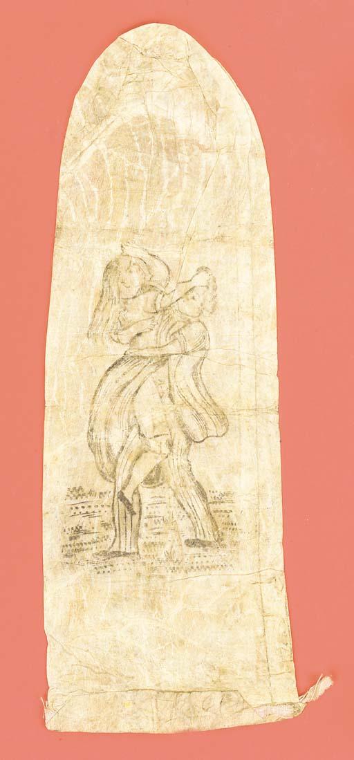 An [?]18th-Century sheep-gut condom,