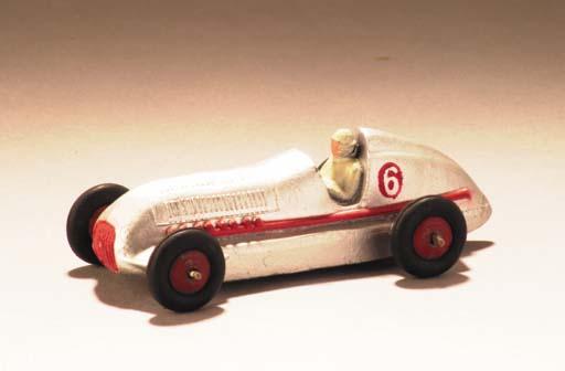 Dinky 23c Mercedes-Benz Racing Cars, circa 1950