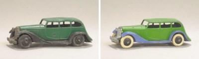 Pre-war Dinky 24b Limousines