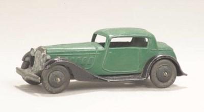Pre-war Dinky 24d two-door Cou