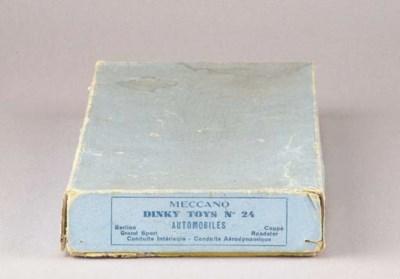 A wartime Dinky 'No. 24 Automo