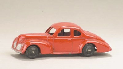 A post-war Dinky red 24o Stude