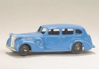 A post-war Dinky bright blue 2