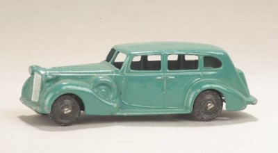 A post-war Dinky turquoise 24p