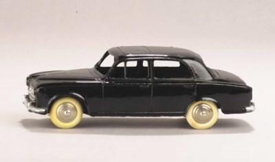 A Dinky black 24b Peugeot 403
