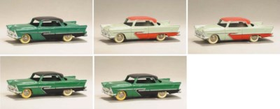 Dinky 24d Plymouth Belvederes