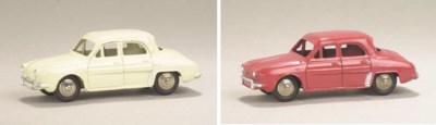 Dinky 24e Renault Dauphines