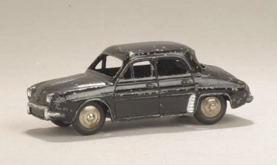 A Dinky black 24e Renault Daup