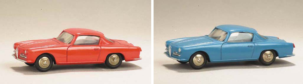 Dinky 24j Alfa-Romeo 1900 Super Sprints