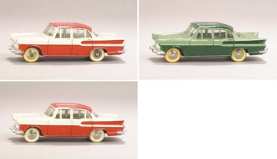 Dinky 24k Simca Vedette Chambo