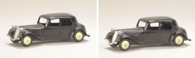 Dinky black 24n Citroëns