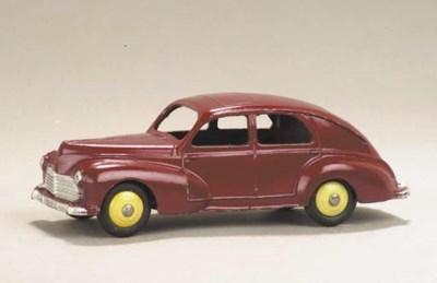 A Dinky cerise 24r Peugeot 203