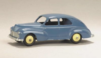 A Dinky grey-blue Peugeot 203