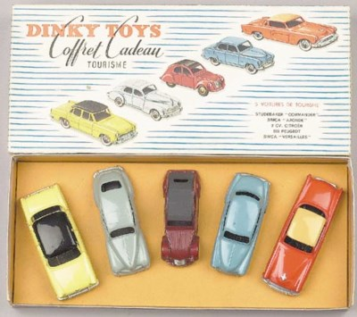 A Dinky Gift Set 'Coffret Cade