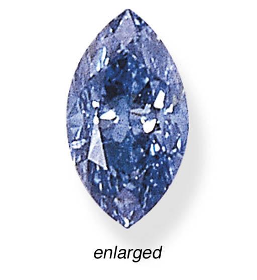 A FANCY INTENSE BLUE DIAMOND R