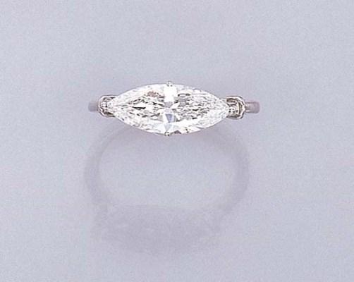 A DELICATE DIAMOND RING
