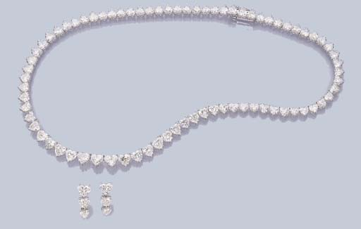 A SUITE OF CHARMING DIAMOND JE