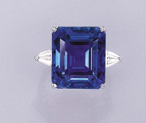 AN IMPORTANT SAPPHIRE RING