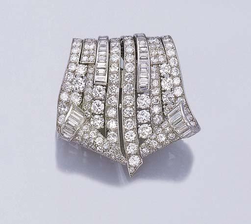 AN ATTRACTIVE DIAMOND DOUBLE C
