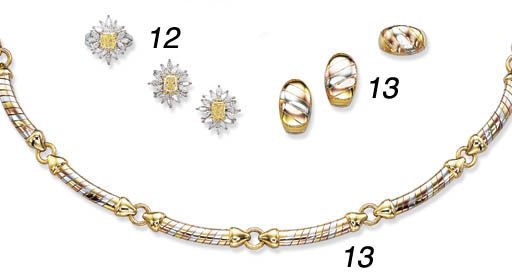 A SUITE OF 18K GOLD AND STERLI