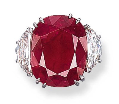 AN IMPORTANT RUBY RING