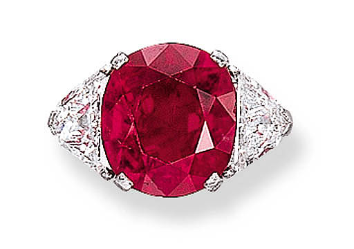 AN IMPORTANT RUBY RING, BY BUL