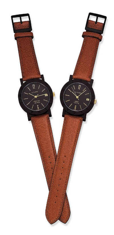 TWO SELF-WINDING WRISTWATCHES,