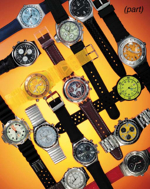 A lot of 32 watches