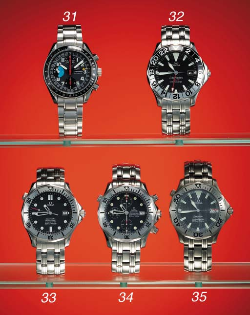 Omega. A stainless steel self-