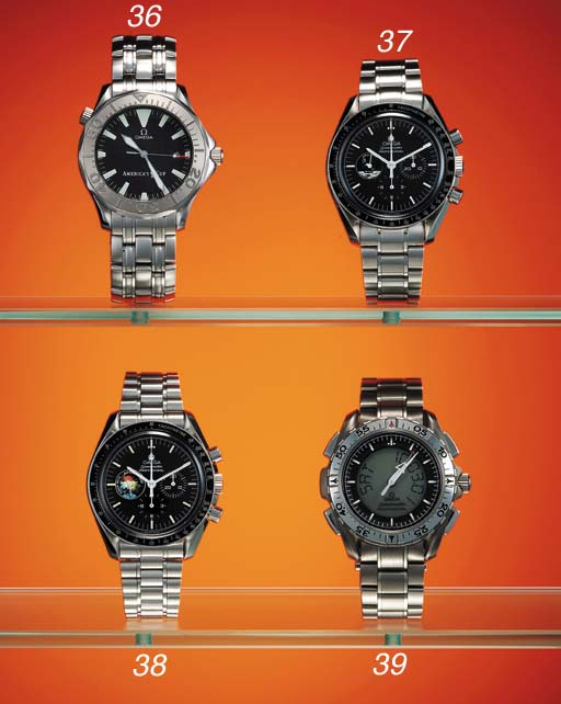 Omega. A titanium waterproof m