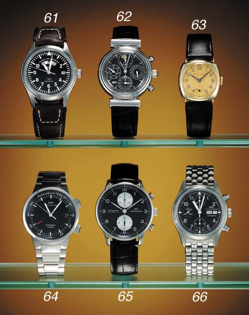 IWC. A stainless steel self-wi