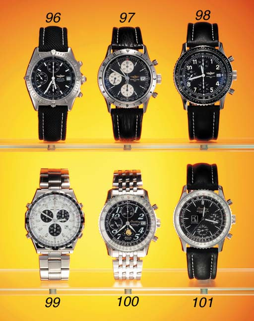 Breitling. A stainless steel t