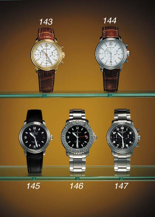 Blancpain. A stainless steel l