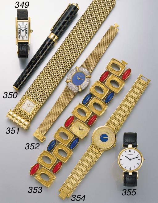 Rolex. An unusual 18K gold bra