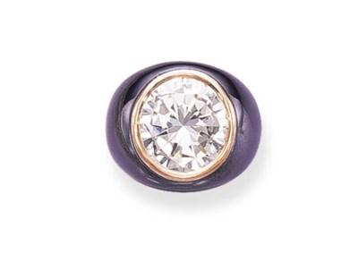 A DIAMOND RING, BY BULGARI