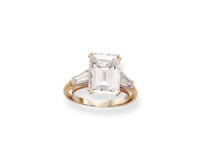 A DIAMOND RING, BY COLLET