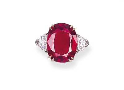 A RUBY RING, BY HARRY WINSTON