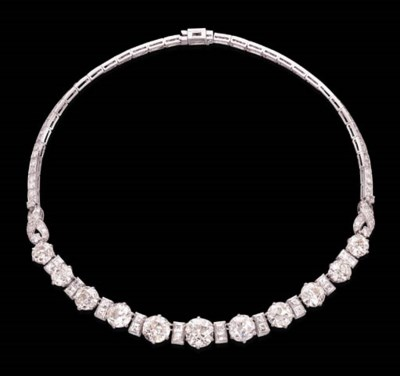A DIAMOND NECKLACE, BY MAUBOUS