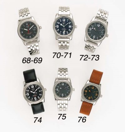 MHR. A STAINLESS STEEL WRISTWA